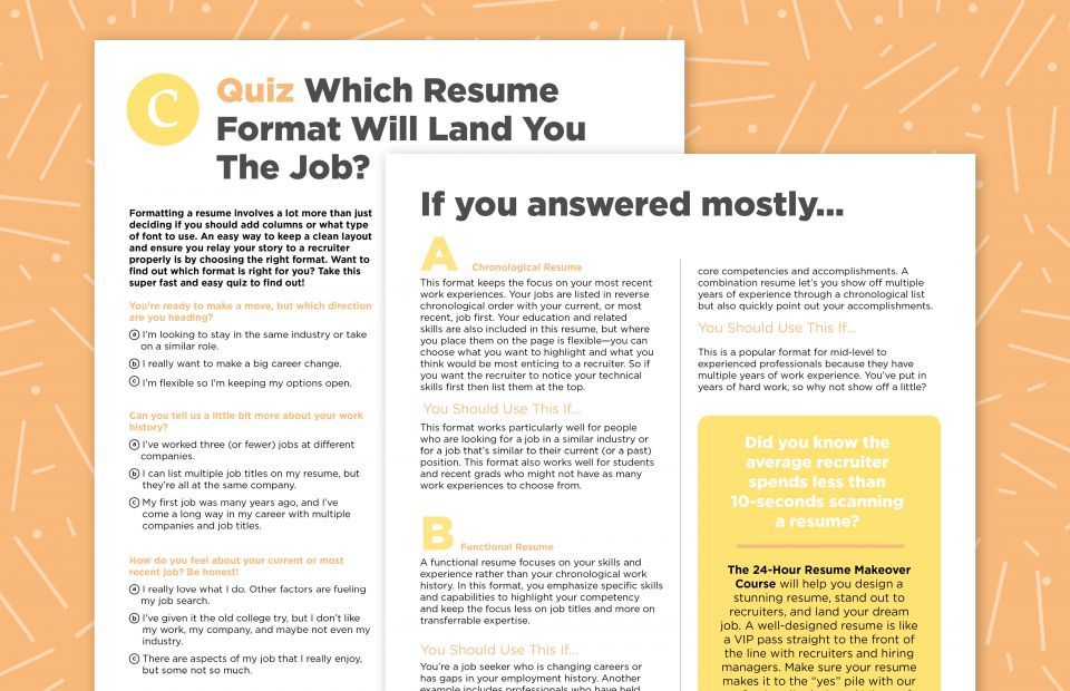 Formatting Your Resume Like This Can Help You Land The Job Career Contessa Resume Job Help Job Search Tips