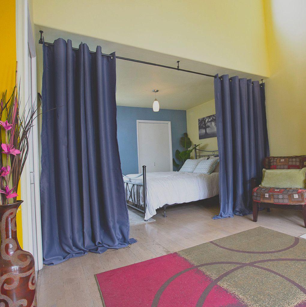 Roomdividersnow Premium Hanging Curtain Rods Roomdividersnow