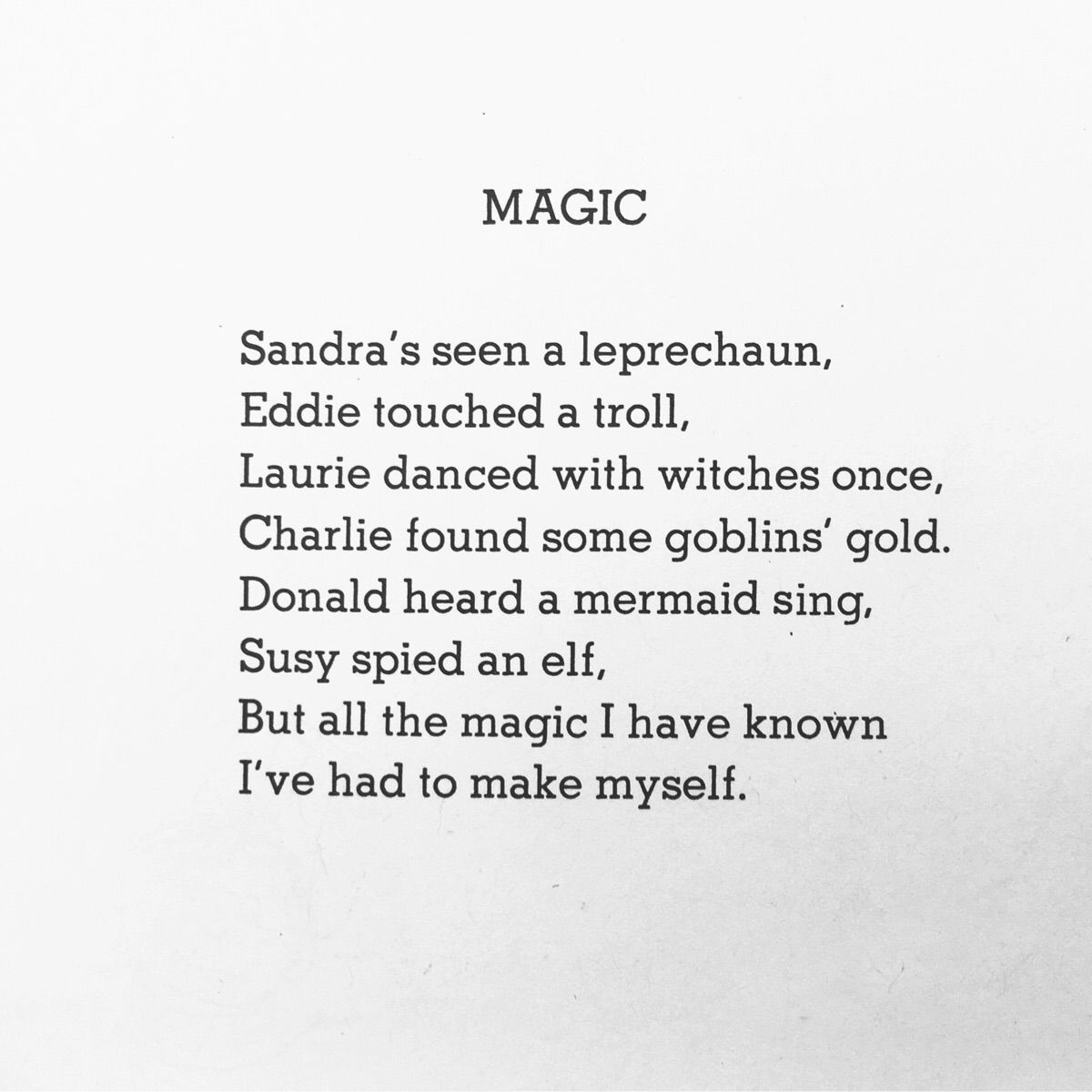 I find this Shel Silverstein poem to be very motivating and ...