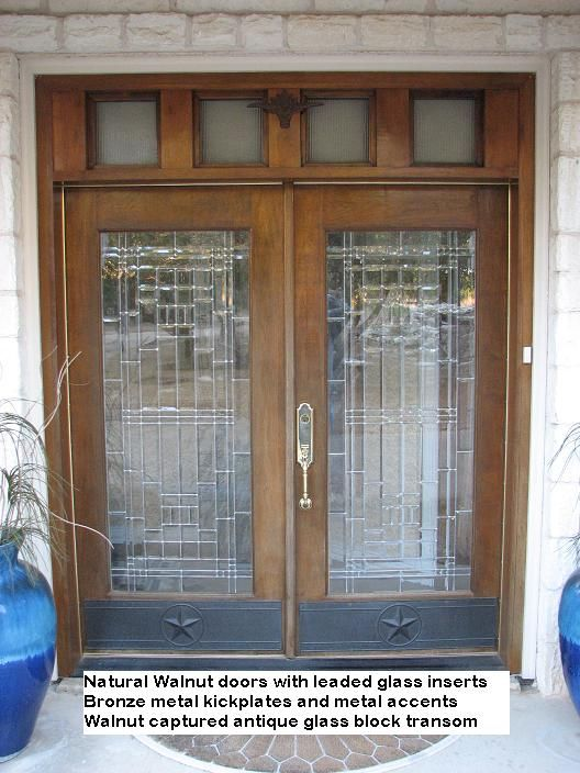 Why Couldnt You Put Glass Block Transom Above Interior Doors To Let
