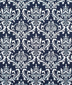 Used this fabric for living room and kitchen drapes and valances.  They are gorgeous.  Inexpensive fabric but nice and heavy weight.  Buying 10 more yards now!  Premier Prints Ozbourne Blue Twill Fabric   onlinefabricstore.net