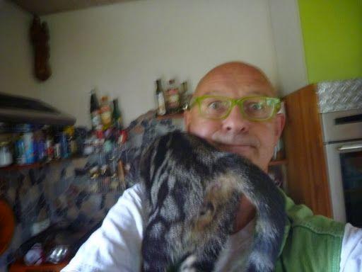 Habl Katzen Küssen und Putzen