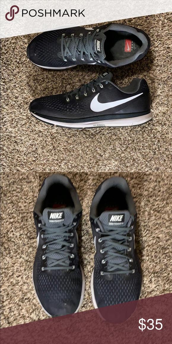 c60bbe624b33b Nike Air Zoom Pegasus 34 Men s (887009-001) Gray   Barely worn ...