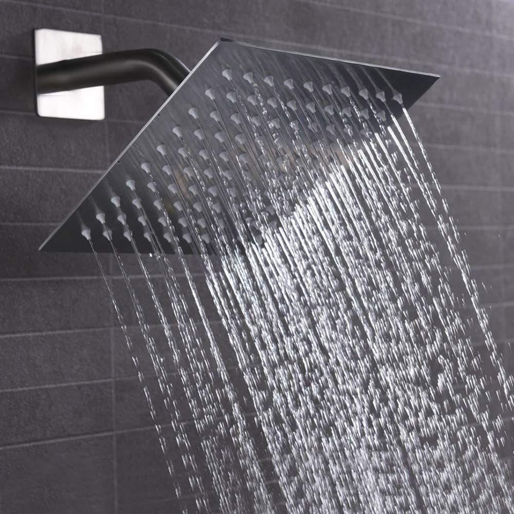 High Pressure Shower Head 8 Inch Rain Showerhead Ultra Thin