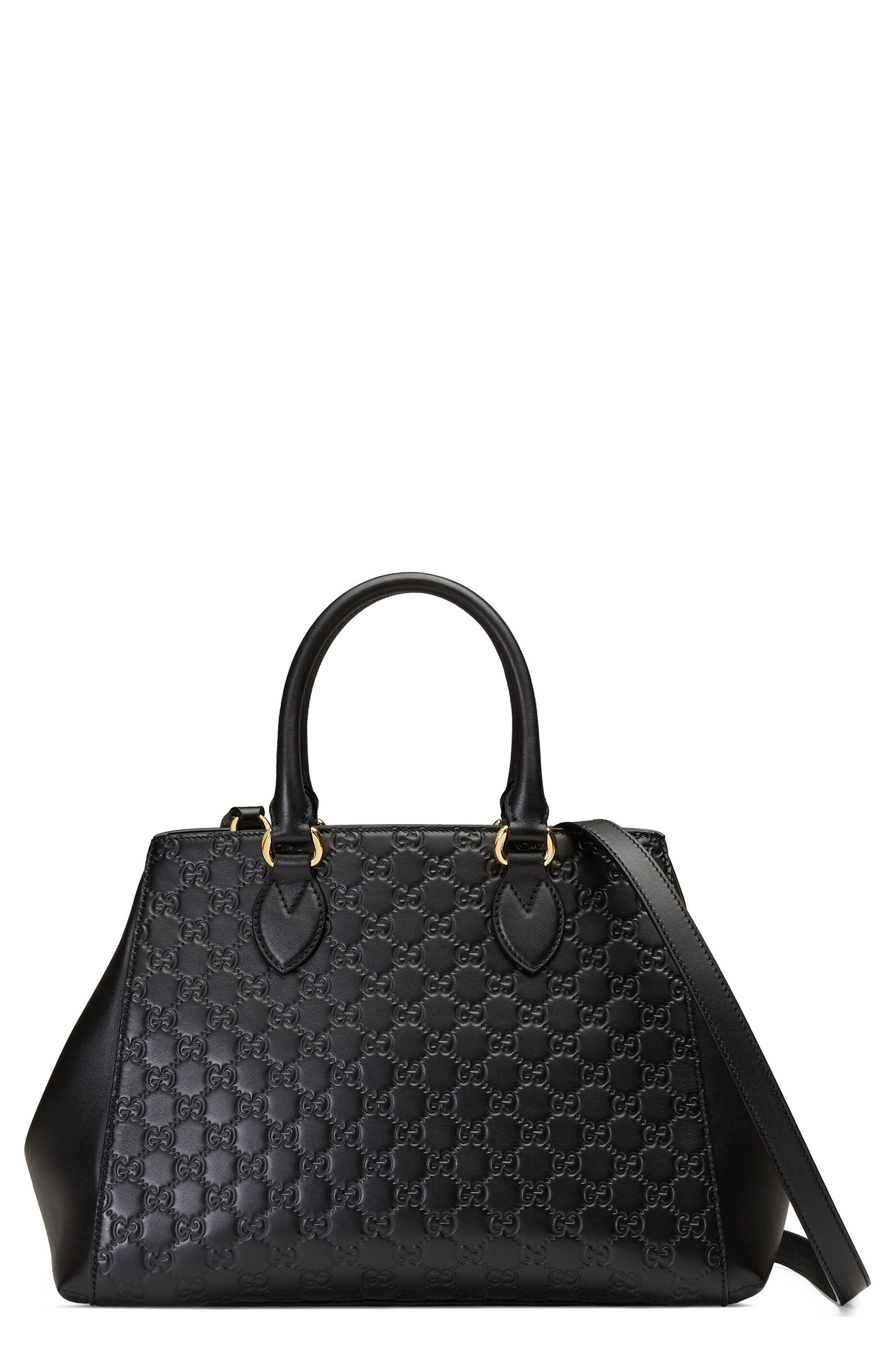 4a95e81918f New Gucci Large Top Handle Signature Soft Leather Tote fashion online.    1980   shop.seehandbags