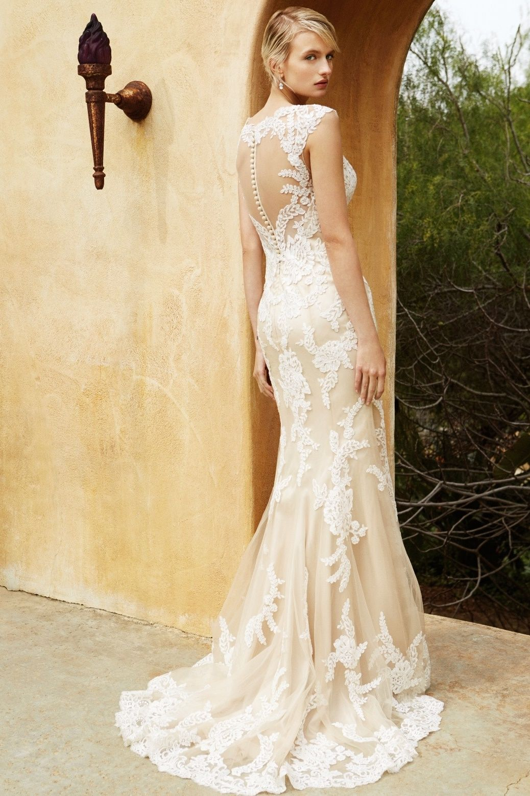 BT16-4 back view - at Sposabella Bridal Gowns Durban The picture of ...