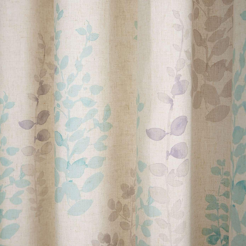 Duck Egg Nieve Lined Eyelet Curtains Dunelm Curtains