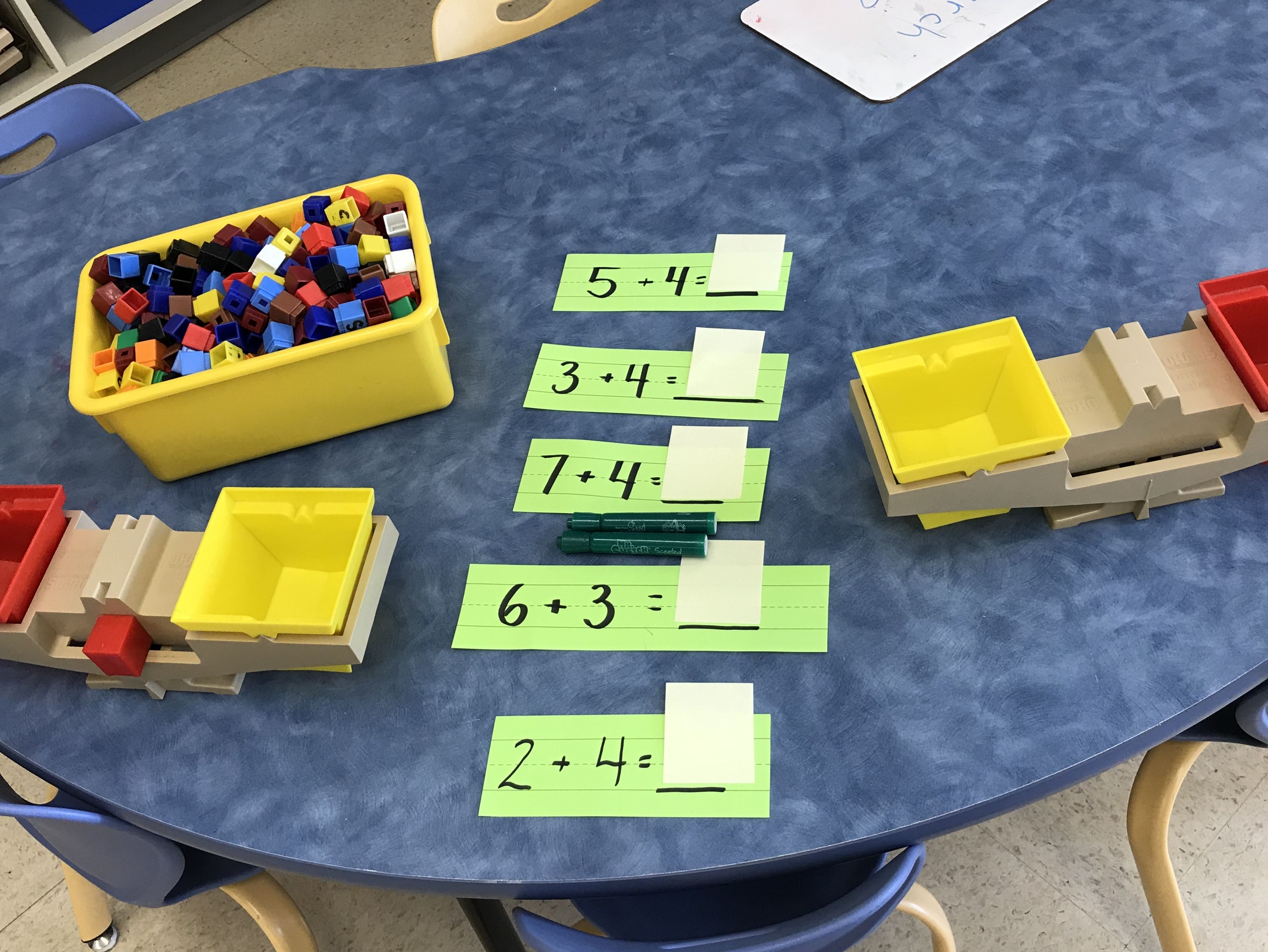 Using Scales And Cubes To Balance Simple Equations