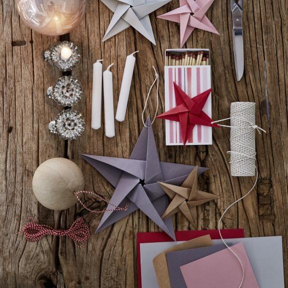 Photo of Papiersterne für Weihnachten falten: Vorlage mit Download