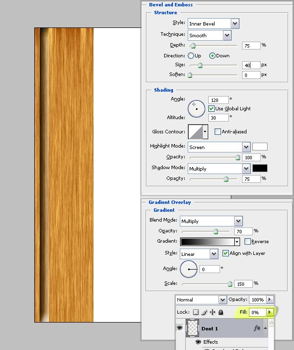 How to Illustrate a Wooden Frame on a Wall Scene - Tuts+ Design ...