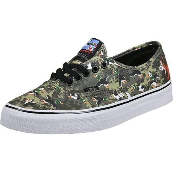 d45811b89c Vans Authentic Nintendo Duck Hunt Camo Skate Shoes