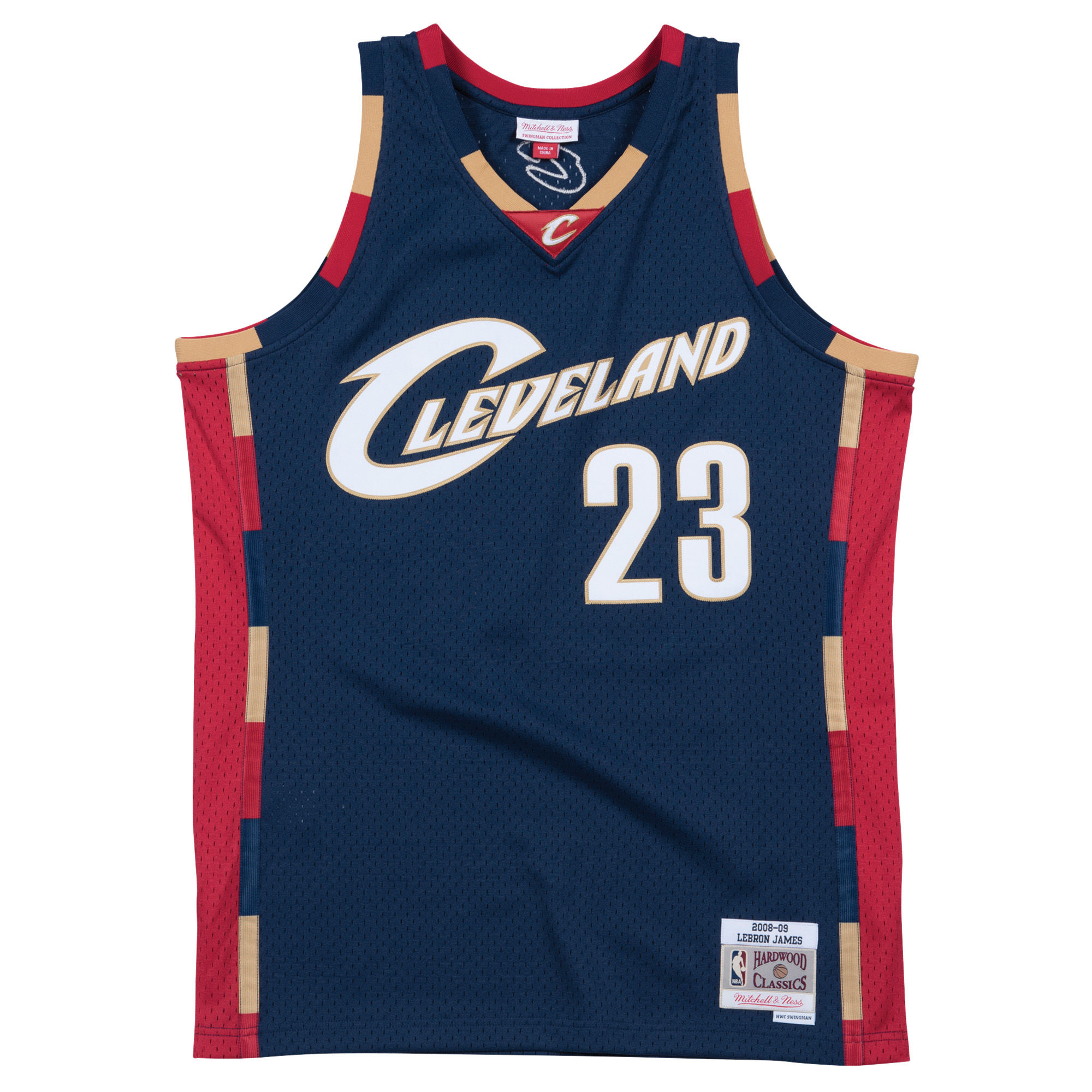 351e63ceb3e Cleveland Cavaliers 08/09 Retro 100% Authentic Jersey Personalized Name and  Number