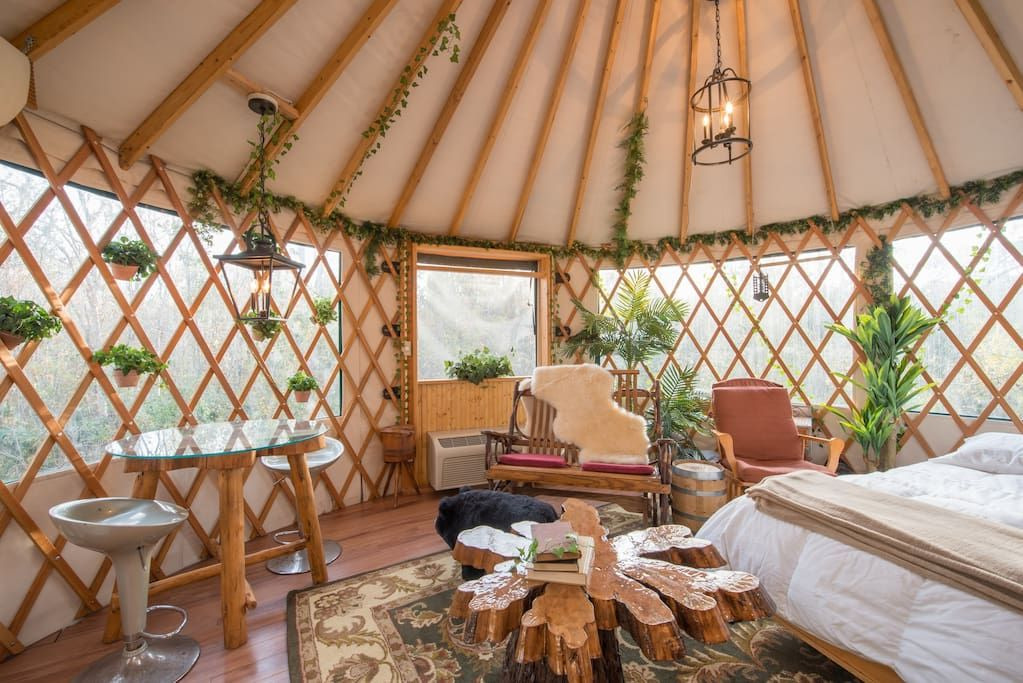Inside the treehouse treehouse camping in florida