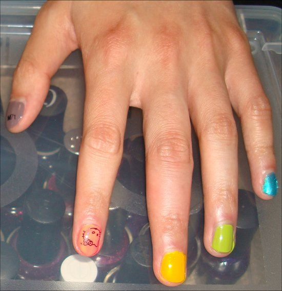 Nail Polish on Guys | Male Polish | Pinterest | Manicure