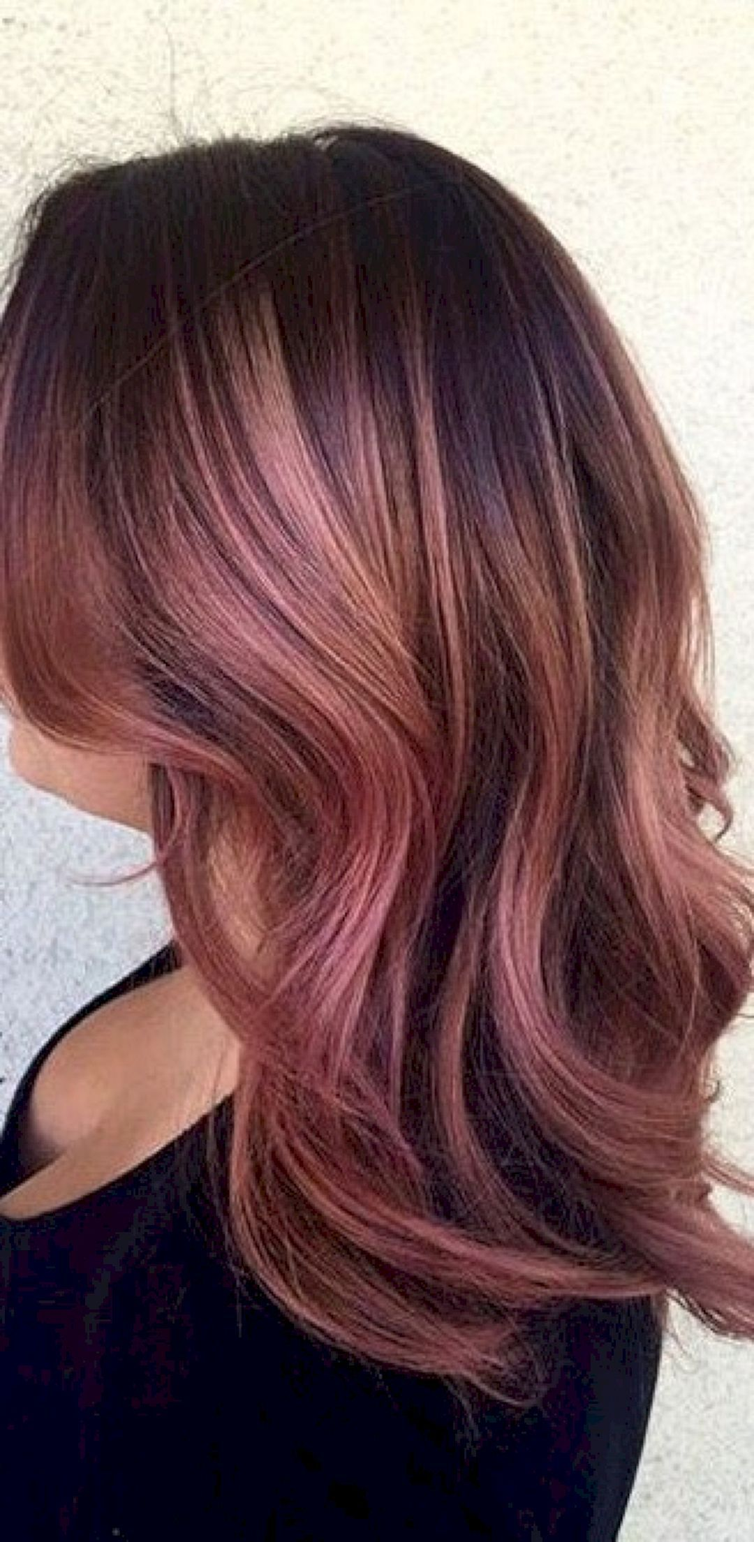 Dyed Hairstyles Brilliant 45 Best And Stunning Dyed Hair Ideas For Brunettes  Brunettes