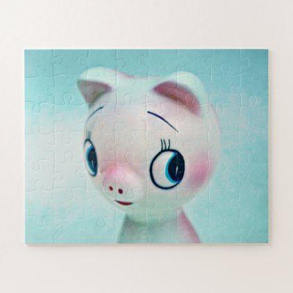 Pig Jigsaw Puzzle   Zazzle.com   Diy stuffed animals, Pet ...