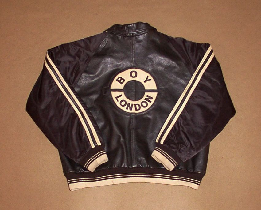 Vintage Boy London Jacket Leather Satin Medium Rare Indie Punk Emo W W Ebay Boy London Vintage Boys Leather Jacket