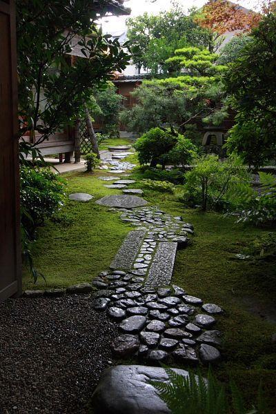 Pin de kubo en garden Pinterest Jardines japoneses, Jardín y