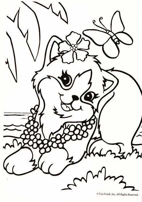 Lisa Frank Coloring Pages free for kids to print - Enjoy Coloring ...