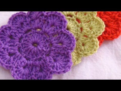 Crochet Coaster Flower Pattern Youtube Coasters Gotta Love It