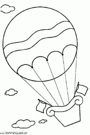Globos Aerostaticos Buscar Con Google By Leanna Flag Coloring Pages Air Balloon Coloring Pages