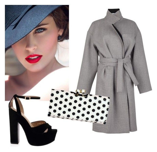 """Inspiration 40's"" by stefania-fornoni on Polyvore featuring moda e Wilsons Leather"