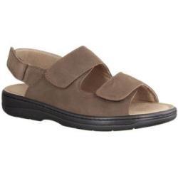 Sandaletten für Herren Slowlies Nubukleder 220 Mocca Größe 45 Slowlies – Boda fotos