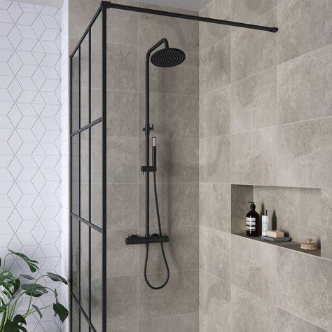Zwart en industrieel; dé badkamer trends van 2019 - Shopinstijl.nl