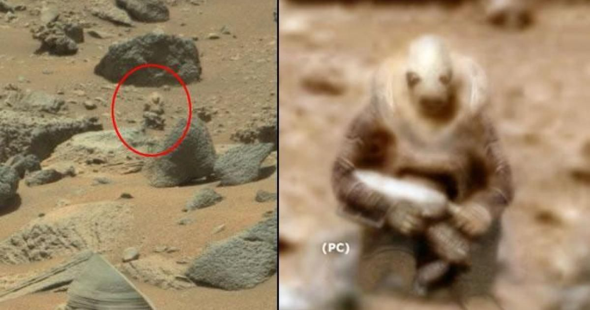 WATCH: ALIEN SOLDIER Spotted Stalking Curiosity Rover On ...