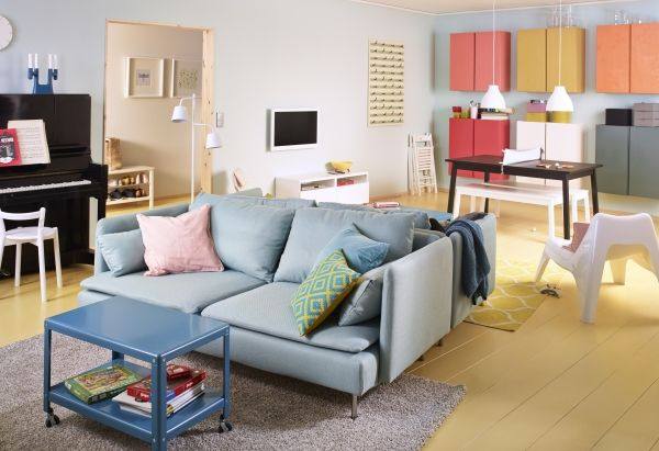 Living Room Furniture Decor Small Apartment Living Ikea