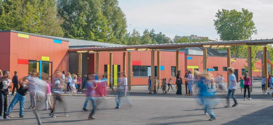 Groupe scolaire Sainte-Thérèse / Enseignement / Projets / Accueil - G. Trouvé - F. Tchepelev Architectes