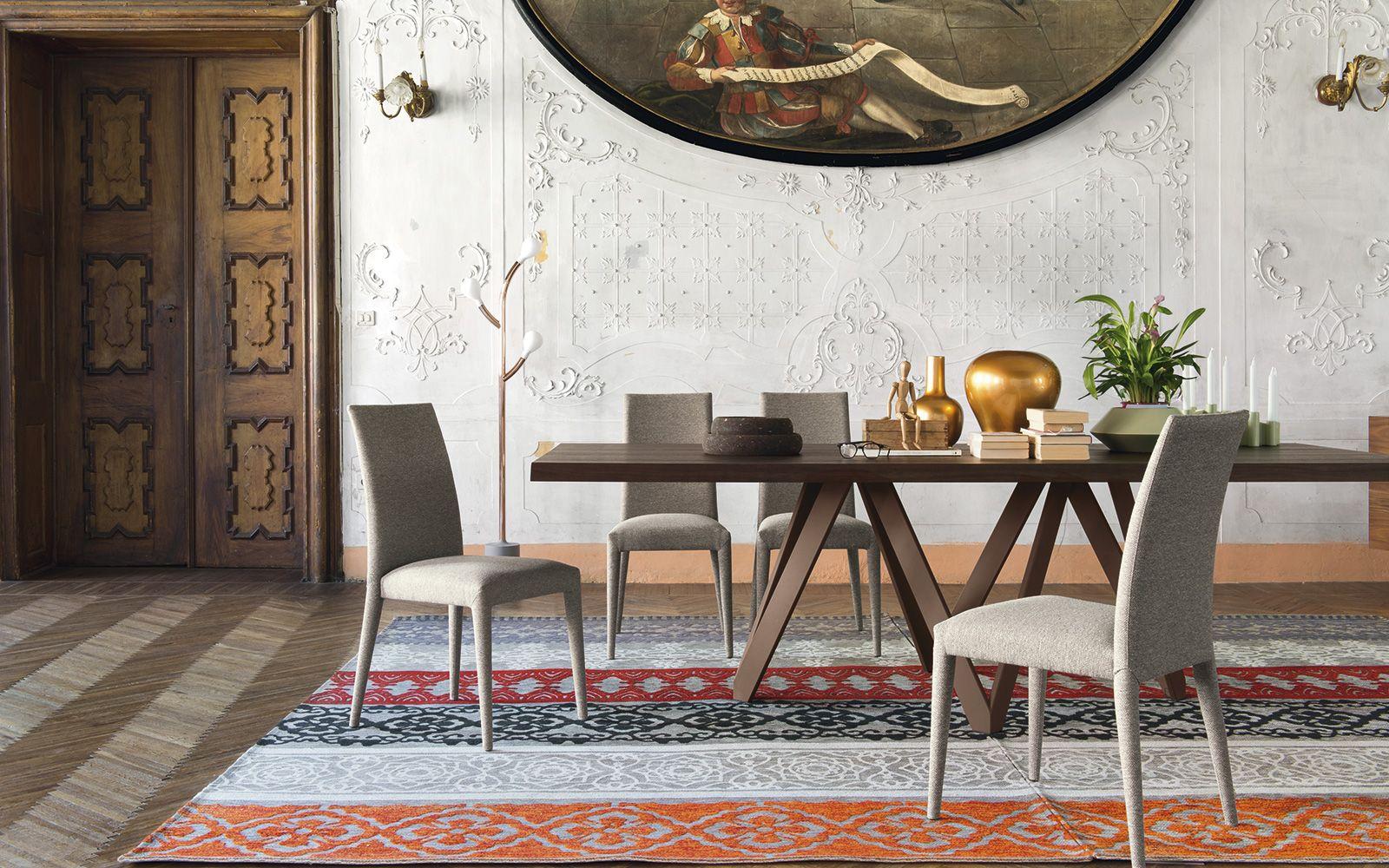 Sedie Rosse Calligaris : Sedia anais di calligaris sedie moderne nel