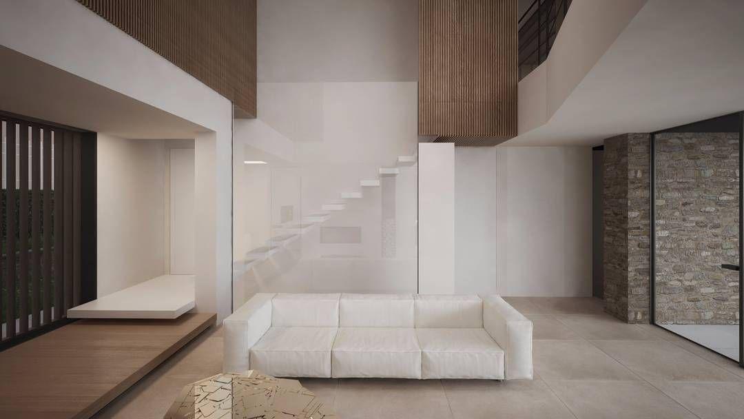 Private House Chieri Interior Work In Progress Stair Damilanostudioarchitects Render Studio Tetris