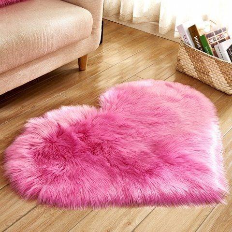 Pink Patterned Bath Mat
