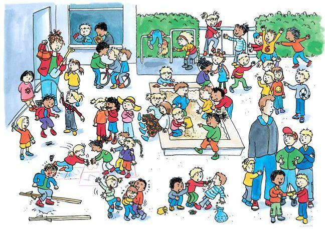 praatplaat speelplaats | Thema, Kinderen, Onderwijsactiviteiten