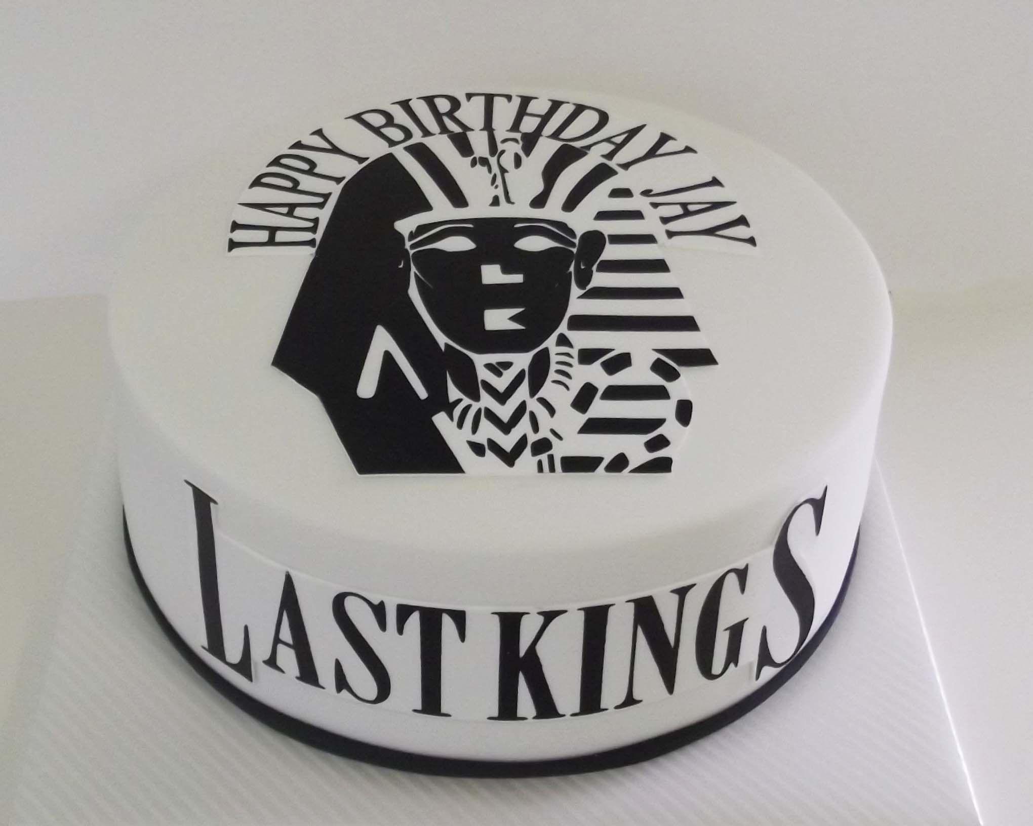 Last Kings Birthday Cake Birthday cakes Pinterest Birthday