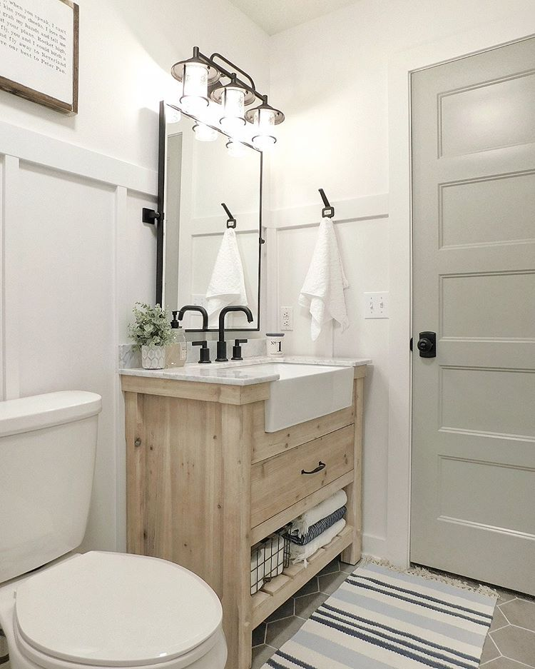 guest bath remodel is complete swipe right for the before