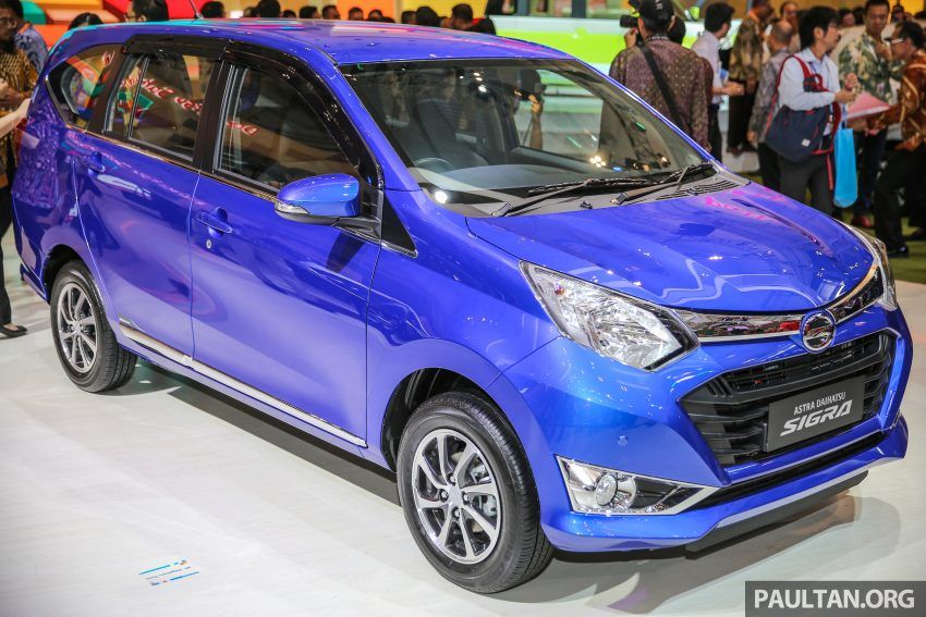 Daihatsu Sigra Toyota Calya S Twin Revealed At Giias Daihatsu Toyota Marketing