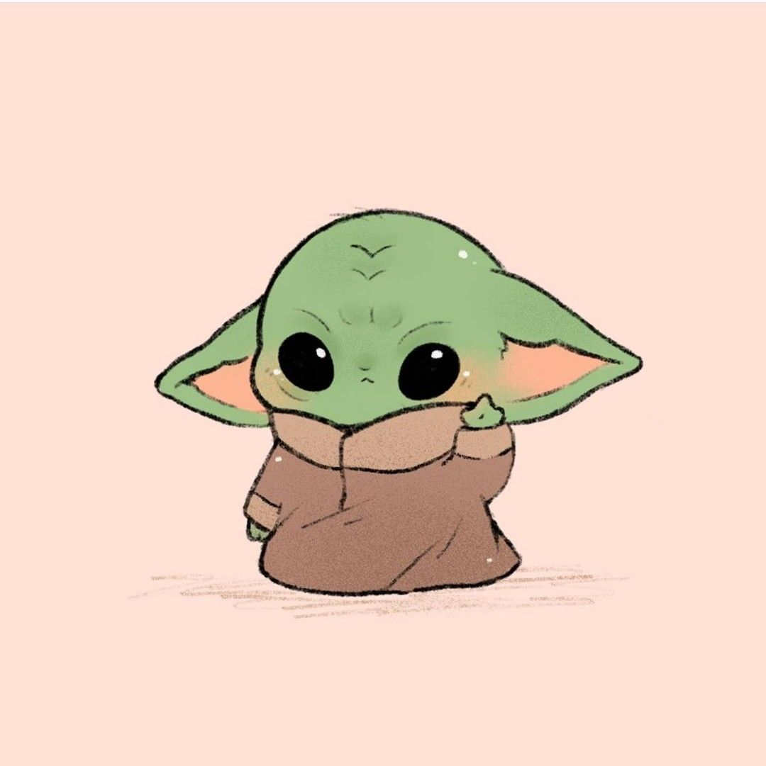 Pin By 𝐰𝐡𝐲 On Star Wars Cute Disney Drawings Yoda Wallpaper Yoda Drawing