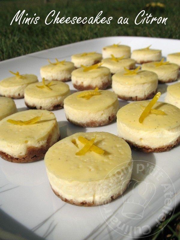 mini cheesecakes au citron1