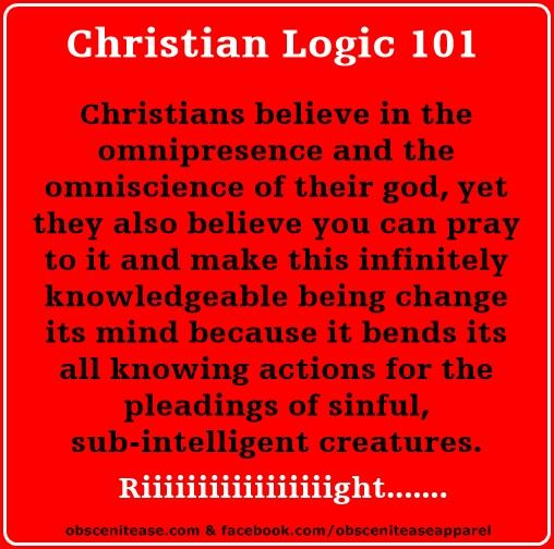 atheism religion christianity god is