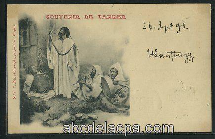 maroc_tanger18482 - Souvenir de Tanger - Cachet de 1898 (E18482.jpg (435×281)