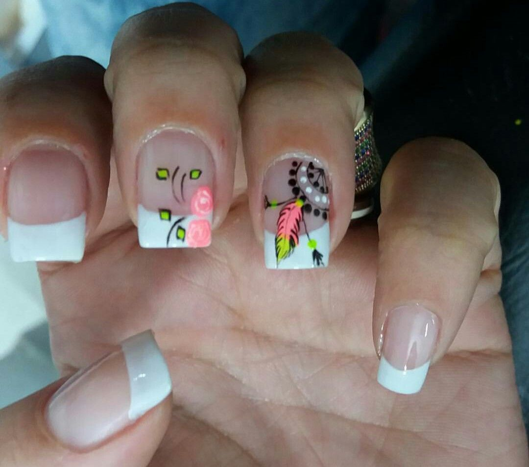 Pin by Magda on decoraciones de uñas | Pinterest | Manicure and Nail ...