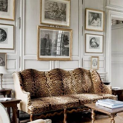 leopard print sofa. | animal print decor | pinterest | leopards