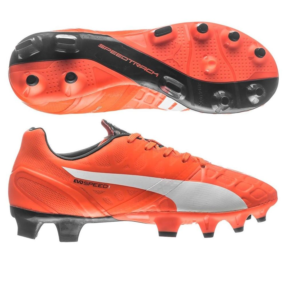 f67418fe3c33 The Puma youth evopower 1.4 soccer cleats will take your game to a new gear.