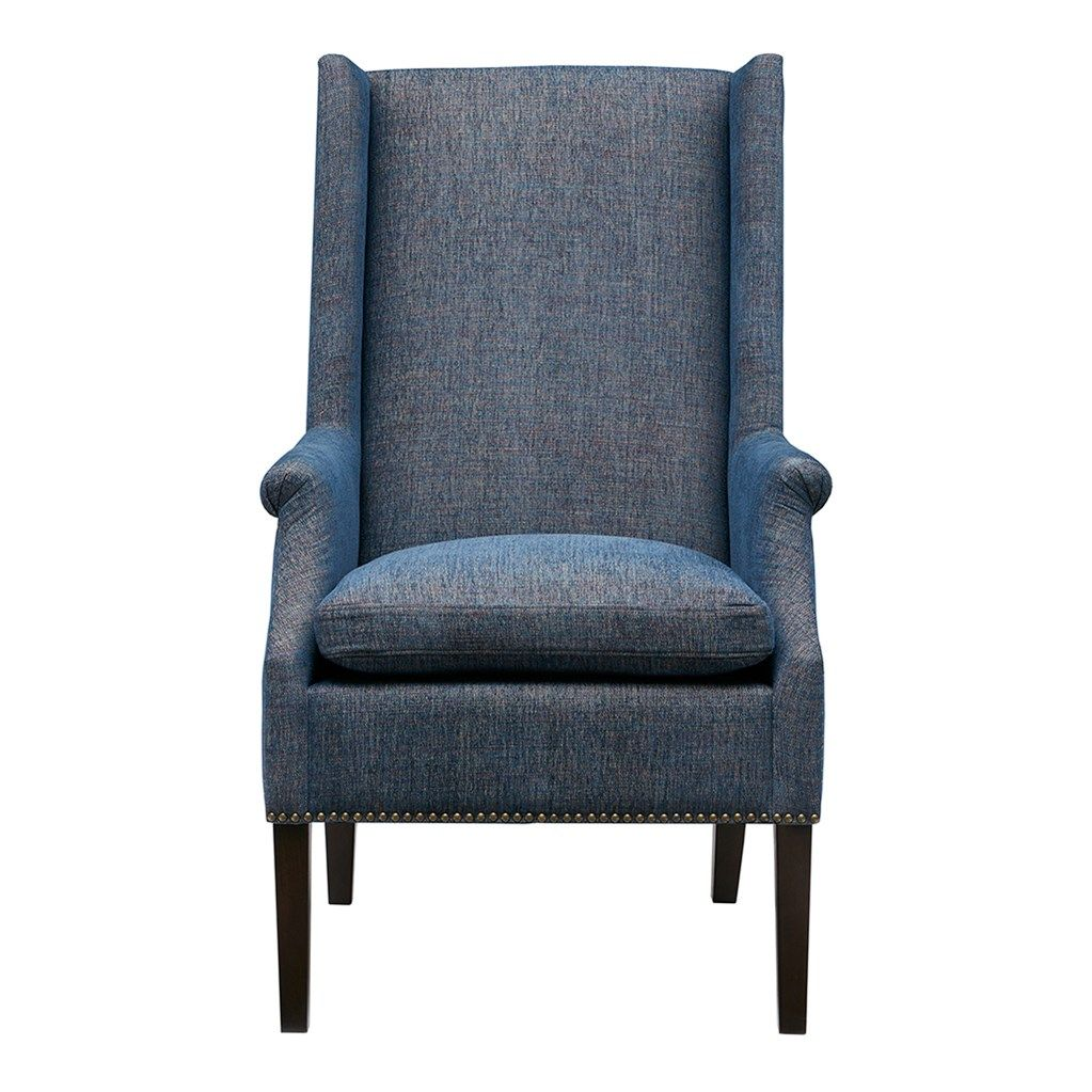 Astounding Madison Park Mansfield Accent Chair Dining Chairs Blue Pabps2019 Chair Design Images Pabps2019Com