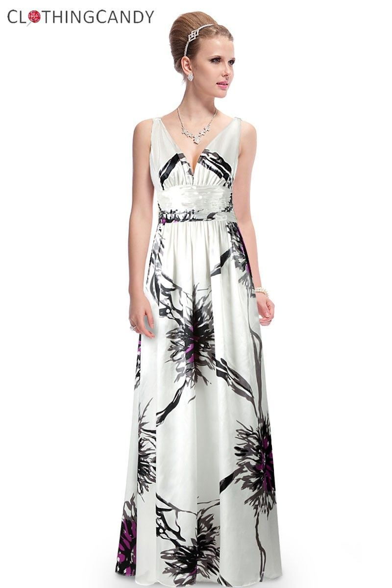 Floral prints divine evening gown shop prom dress size xs to xxxl at
