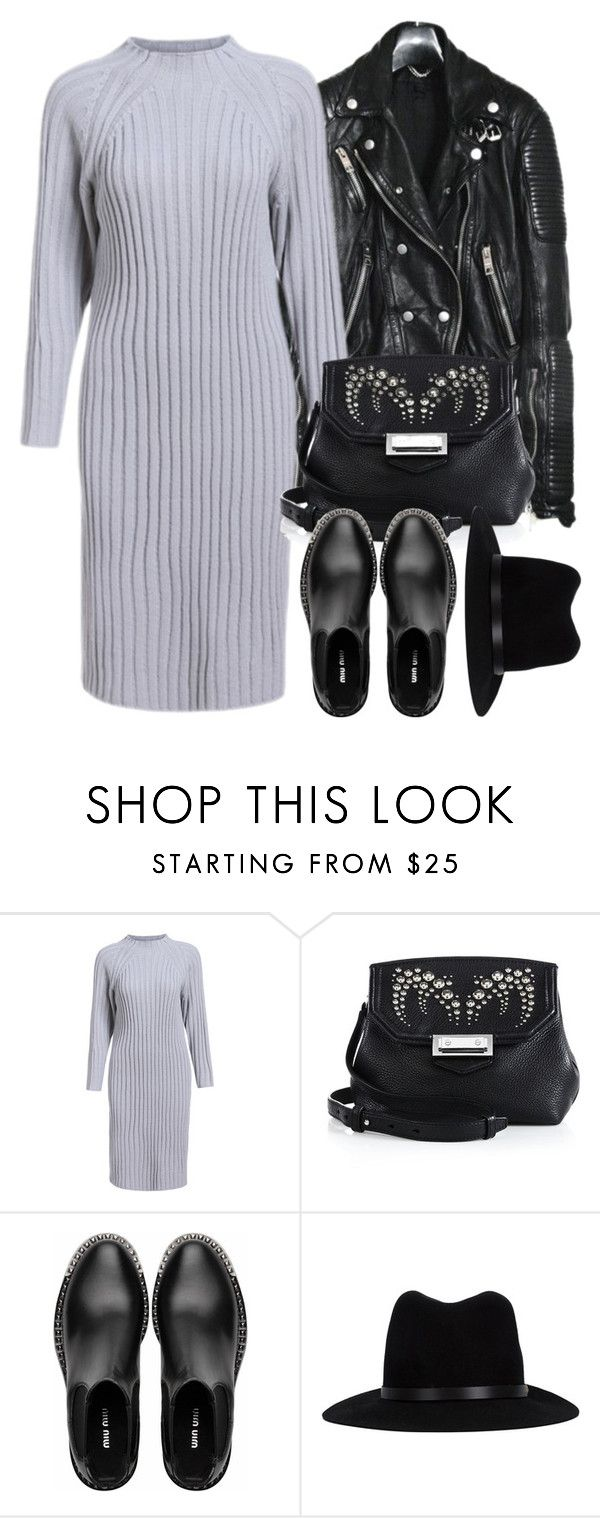 """Untitled #3903"" by london-wanderlust ❤ liked on Polyvore featuring мода, Burberry, Alexander Wang, Miu Miu и rag & bone"