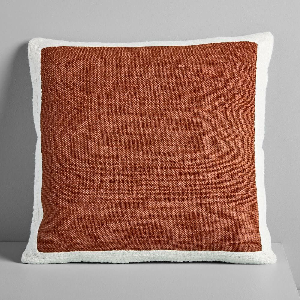 Textured Border Cushion Covers Reich Residence In