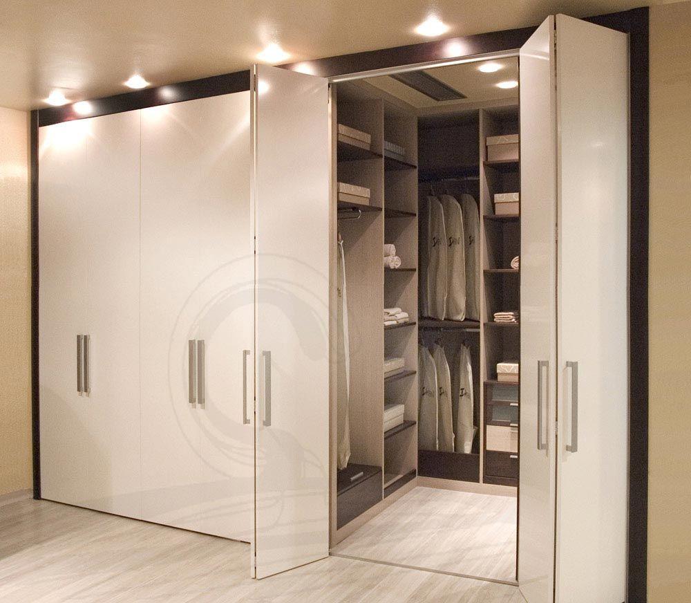 Puertas plegadizas vestidores buscar con google - Interiores armarios empotrados puertas correderas ...